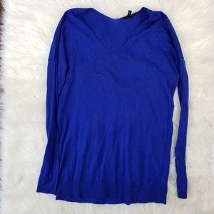 Express Men's Sm Blue Long Sleeve Top
